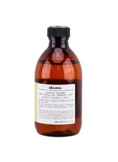 Alchemic Shampoo Golden 280 Ml-Davines